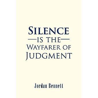 Silence is the Wayfarer of Judgment door Jordan Bennett