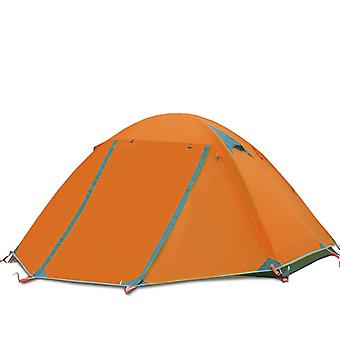Double-layer stormproof tent for two people