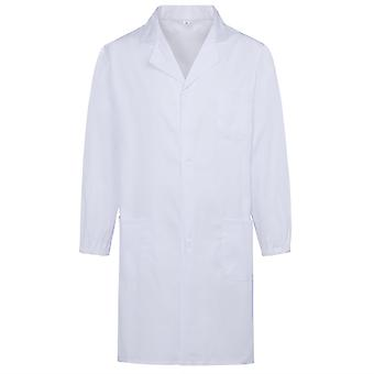 Allthemen Men & Apos;s White Medical Coat Rever Medical Health Rochii