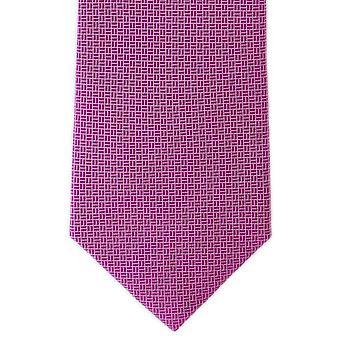 Michelsons van Londen Basket Weave Silk ex aequo - Magenta roze