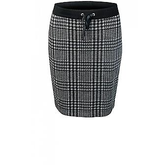Bianca Check Print Skirt