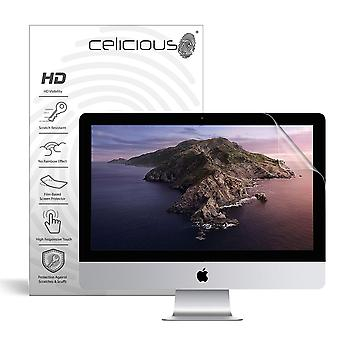 Celicious Vivid Invisible Glossy HD Screen Protector Film Compatible with Apple iMac 27 Retina 5K (A2115) [Pack of 2]