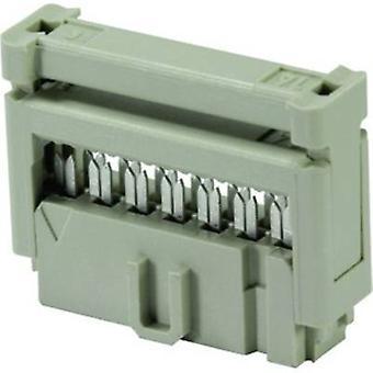 Harting Edge-connector (recipiënt) Contactafstand: 2,54 mm nee. van rijen: 2 1 pc(s)