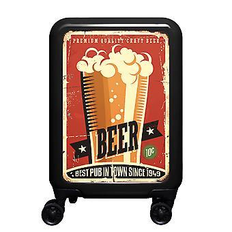 myTrolley Beer S, 4 rolls, 55 cm, 32 L, Black
