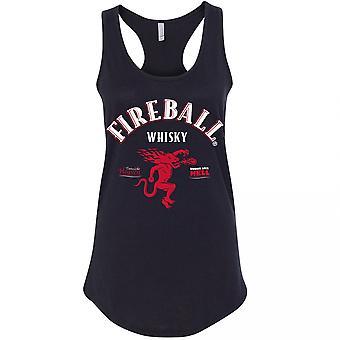 Fireball Whisky Femmes-apos;s Racerback Tank Top