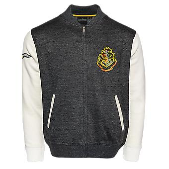 Licensed harry potter unisex hogwarts applique embroidery baseball jacket