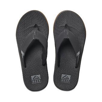 Reef Mens Sandaler med flasköppnare ~ Fanning Låg svart