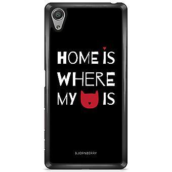 Bjornberry Shell Sony Xperia X - Startseite ist wo..