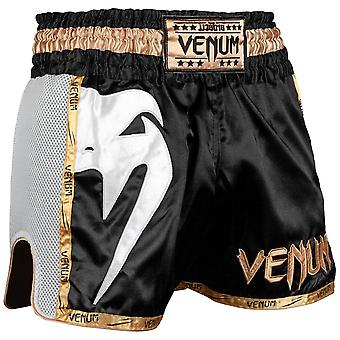 Venum Giant Muay Thai Shorts zwart/wit/goud