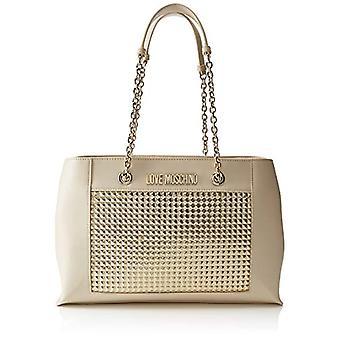الحب موسكينو العجل بو حقيبة امرأة (الذهب) 12x26x40 سم (العرض × ح س L)