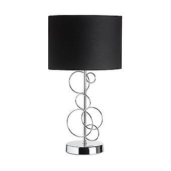 Finchley Lamp, Chroom, Met Lampenkap