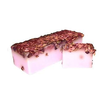Rose and Rose Petals Soap Slice 100g