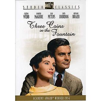 Three Coins in the Fountain [DVD] USA import