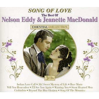 Nelson Eddy & Jeanette Macdonald - Song of Love Essential Collection [CD] USA import