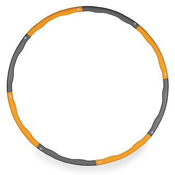 Weighted Hula Hoop by Phoenix Fitness - 1.1 Kg Foam Ring 96cm Wave Groove Hoola