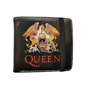 Queen Wallet Classic Crest Band Logo new Official Black Bifold
