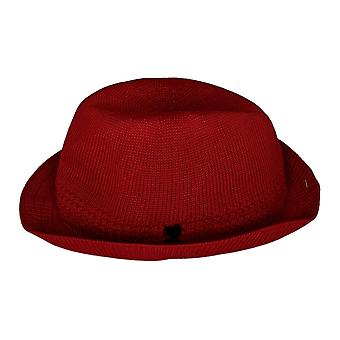 Stacy Adams Elmhurst verfraaid Fedora True Red Hat