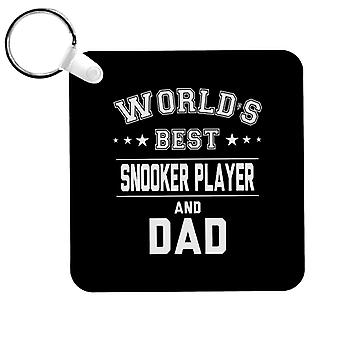 Worlds Best Snooker Player And Dad Keyring