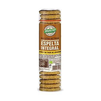 Whole Wheat Spelled Crackers 250 g