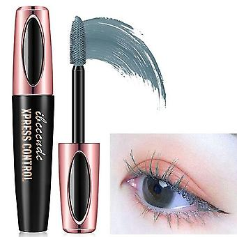 4d Silk Fiber Eyelash Mascara waterproof For Eyelash Extension- Thick