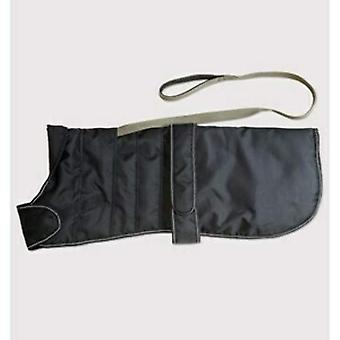 Daneză Design Ham Dog Coat - Negru - 45cm (18 inch)