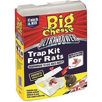 The Big Cheese Ultra Power trapping Kit For Rats