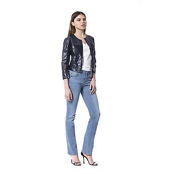 Silvian Heach Bluedark Jackets & Coat SI993940-XS