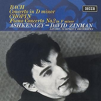 Chopin / Ashkenazy / London Symphony Orch / Zinman - Piano Concerto No 2 - Bach: Keyboard Concerto in D [Vinyl] USA import