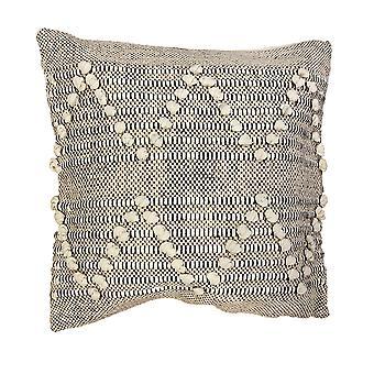 Spura Accueil Triangle Confortable Style Marocain Beige Oreiller 18x18