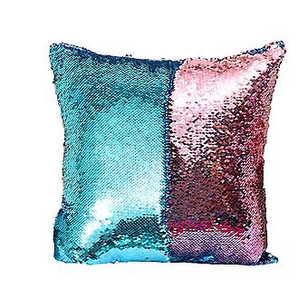 YANGFAN Magic Mermaid Reversible Sequin Glitter Pillow Case