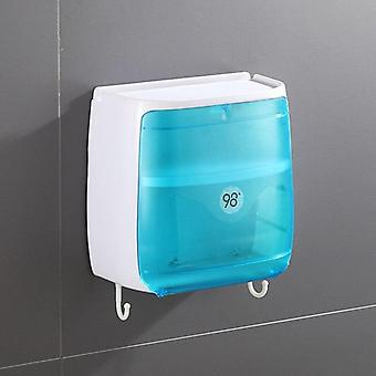 Waterproof Wall Mounted Toilet Paper Holder - Storage Box