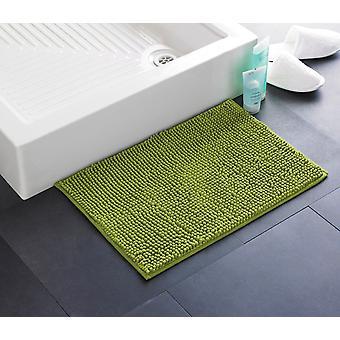 Загородный клуб Chenille Bath Mat, Зеленый