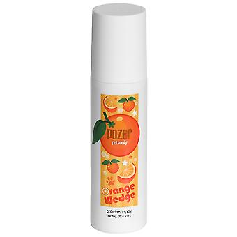 Pozer Orange Wedge Pet Refresh Pet Cologne Spray  - Exciting Citrus Scent 200ml