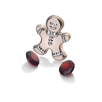 Anais Hot Diamonds Anais Rose Gold Plated Gingerbread Man AC107