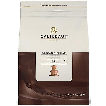Callebaut Milk Chocolate Callets for Fountains