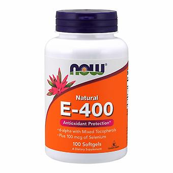 Now Foods Vitamin E, 400 IU, 100 Sgels