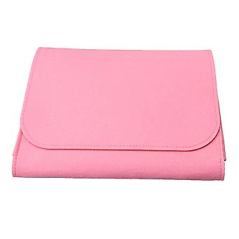 27x23x3cm Bedside Storage Bag Sofa Organizing Tool with 2 Holes on Sides