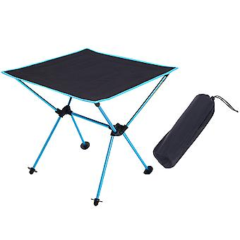 Homemiyn Oxford Cloth Aluminum Alloy Folding Table Outdoor Portable Picnic Table