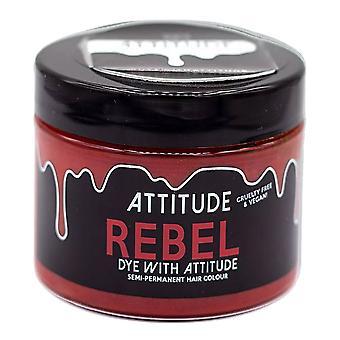 Attitude Semi Permanent Cruelty-free & Vegan Hair Dye - Rebel Red 135ml