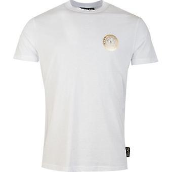 Versace Jeans Couture Foil Circle Logo T-Shirt