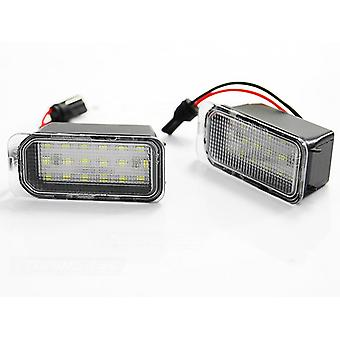 LICENSE PLATE LIGHTING LED FORD FIESTA FOCUS MONDEO C-MAX S-MAX GALAXY LED