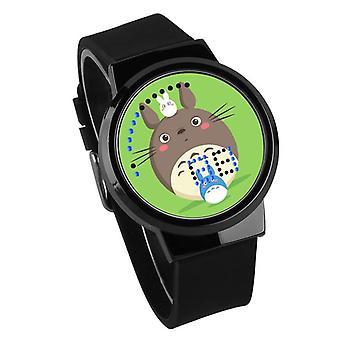 Αδιάβροχο φωτεινό ρολόι παιδιών αφής των οδηγήσεων - ο γείτονάς μου Totoro #35
