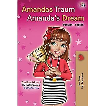 Amandas Traum Amanda's Dream: German English Bilingual Book (German English Bilingual Collection)