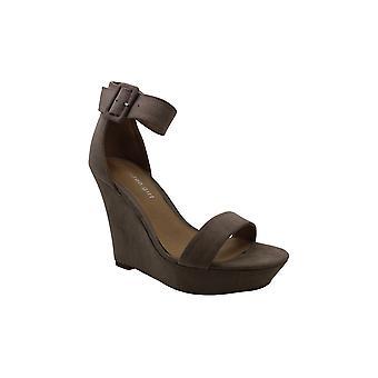Madden Girl Womens Beauu Fabric Open Toe Formal Platform Sandals