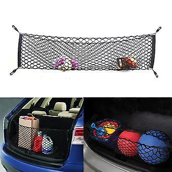 bil mesh elastisk nylon bak bak last bagasjerommet oppbevaring arrangør bagasjenett
