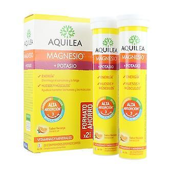 Aquilea Magnesium + Kalium 28 tablettia