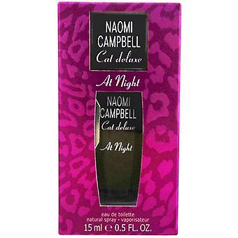 Naomi Campbell Cat Deluxe At Night Eau De Toilette 15ml Spray