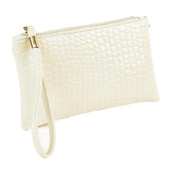Crocodile Small Women Clutch Bag