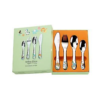 آرثر السعر الغابة العزيزة 4 قطعة الطفل مجموعة أدوات المائدة