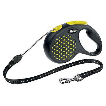 Flexi diseño retráctil perro correa de cordón